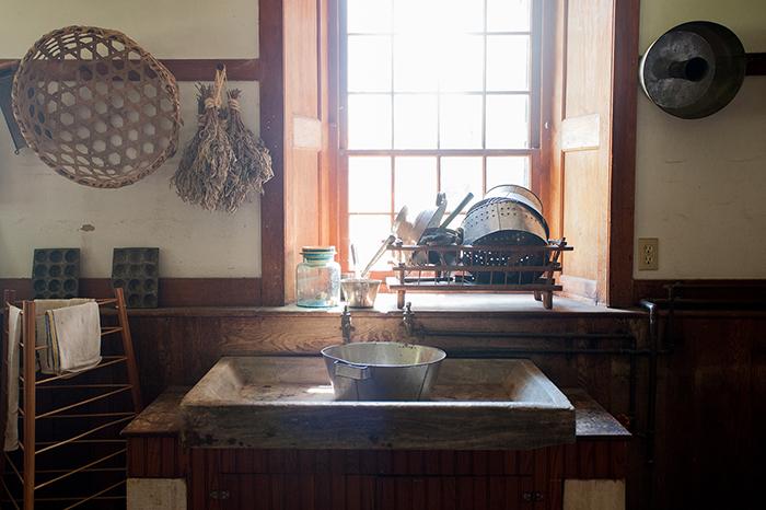 Hancock_Shaker_Village_Küche