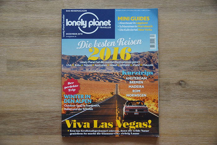 Lonely Planet Magazin – Blog-Tipp! - Cover