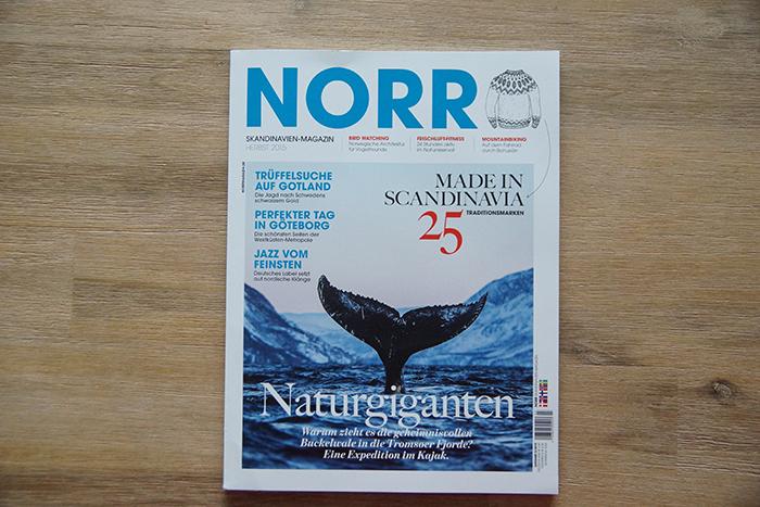 NORR – Skandinavien Magazin – Cover