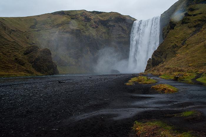 Island_Skógarfoss