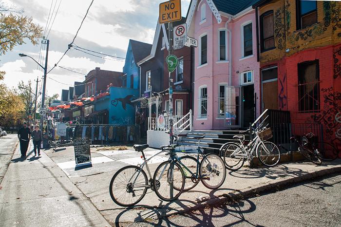 Toronto_Fahrräder