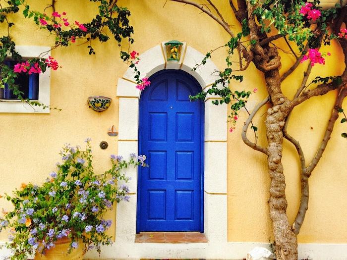 Eingangstür Assos