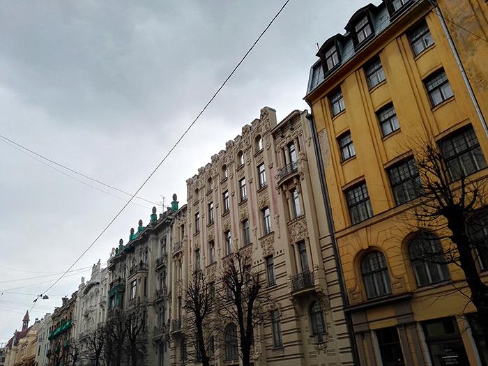 Riga_Jugendstil_Fassade