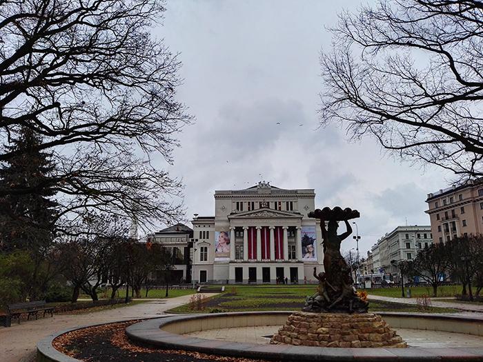 Riga im Herbst_Oper