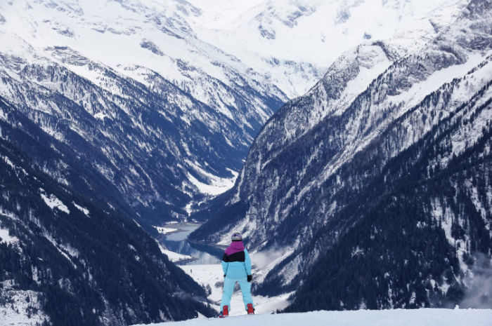 Skigebiet Mayrhofen Ausblick