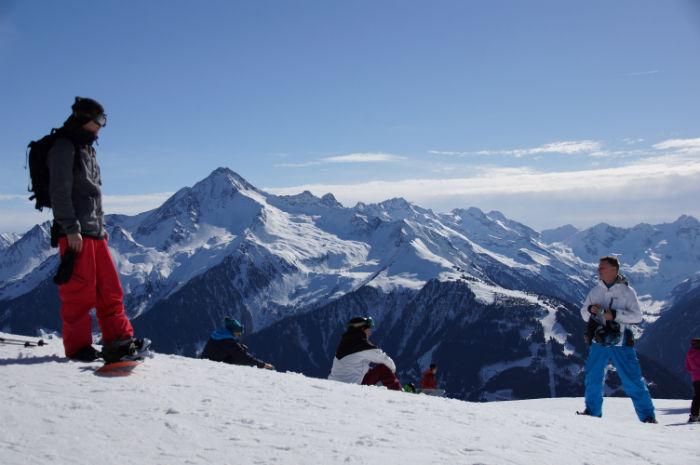 Skigebiet Mayrhofen Aussicht