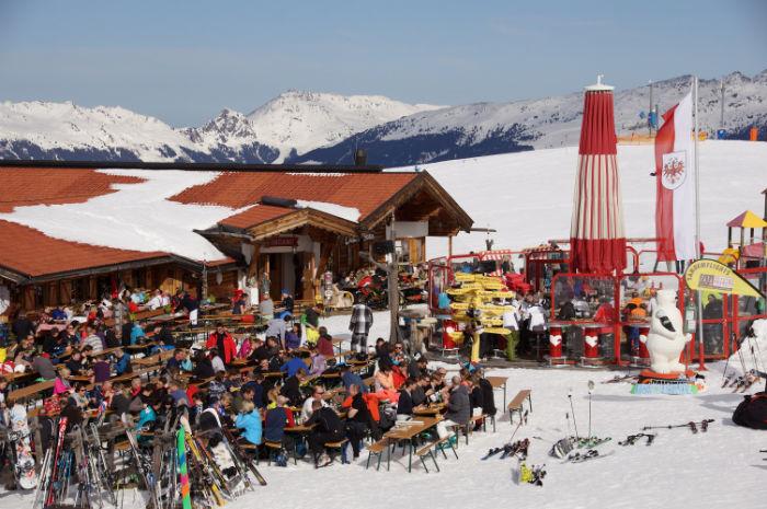 Skigebiet Mayrhofen ChristasSkialm