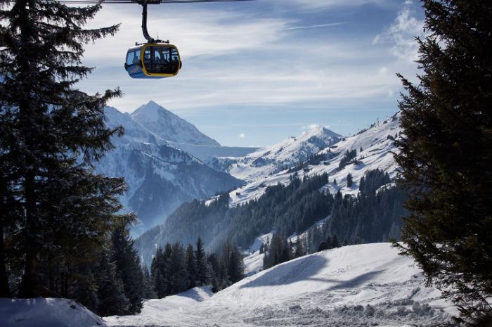 Skigebiet Mayrhofen Gondel