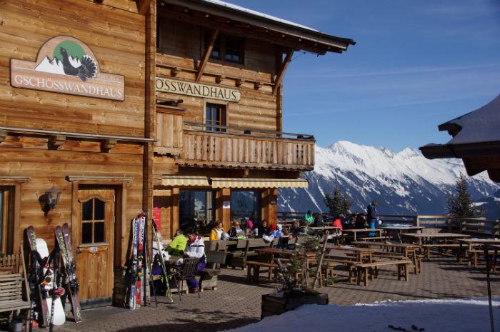 Skigebiet Mayrhofen Gschösswandhaus