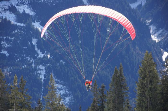 Skigebiet Mayrhofen Paragliden2