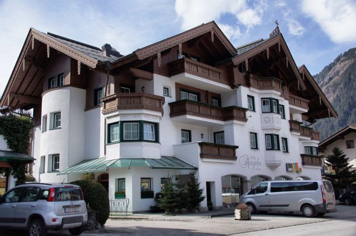Skigebiet Mayrhofen Villa Angela