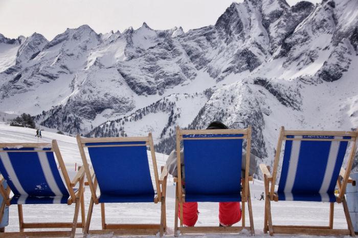 Skigebiet Mayrhofen Whitelounge