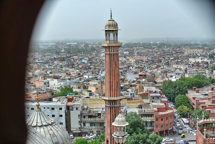 Urlaub-in-Delhi_view-from-jama-masjid
