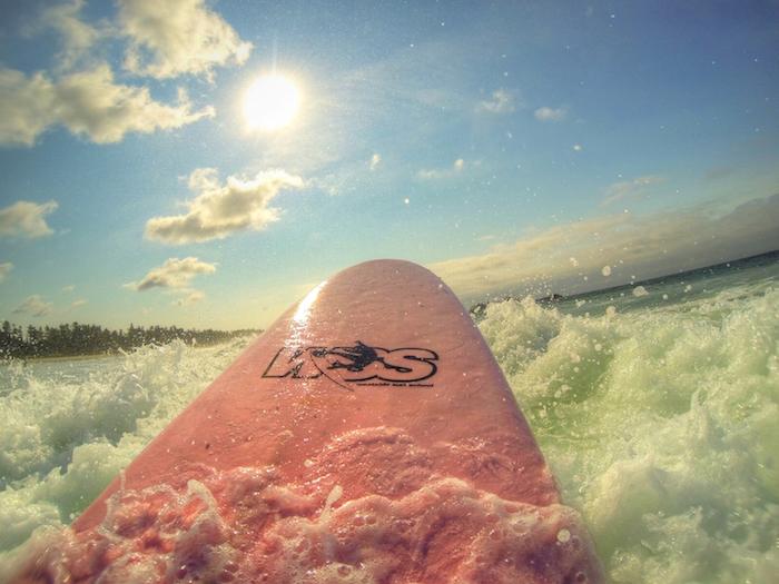 Surfen in Tofino auf Vancouver Island