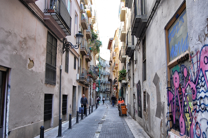 Altstadt_Valencia_Gassen