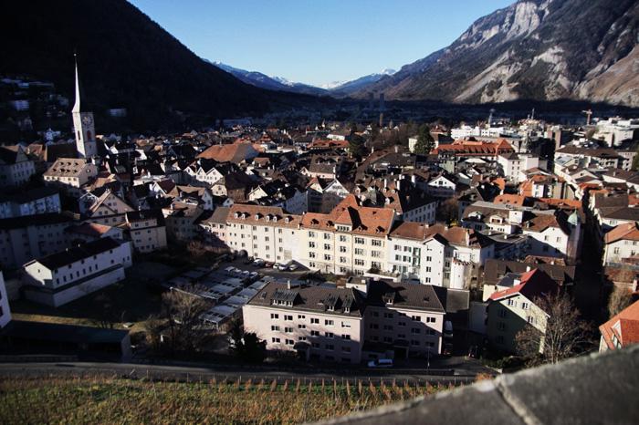 Aussicht-Arosastrasse-Chur