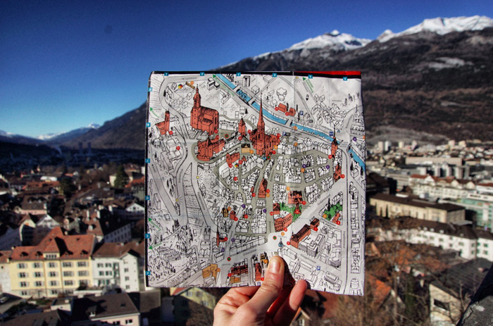 Chur-Stadtplan