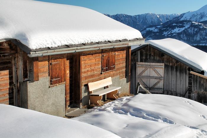 Flims Hütte Berg