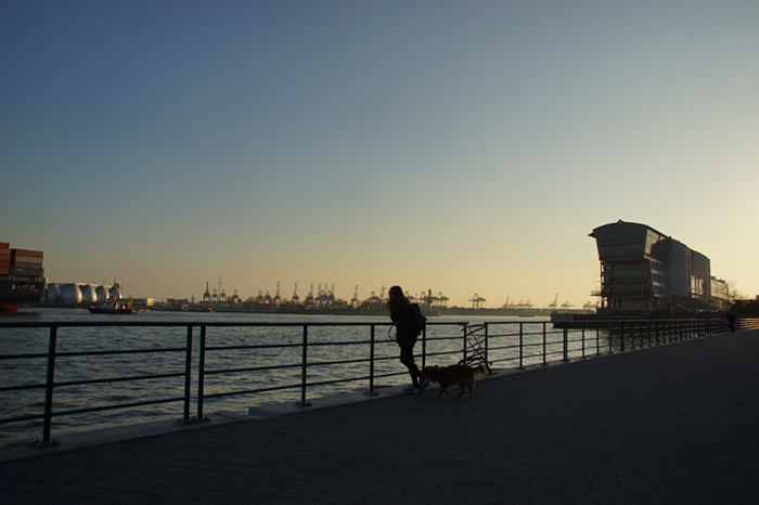Elbe Hamburger Hafen