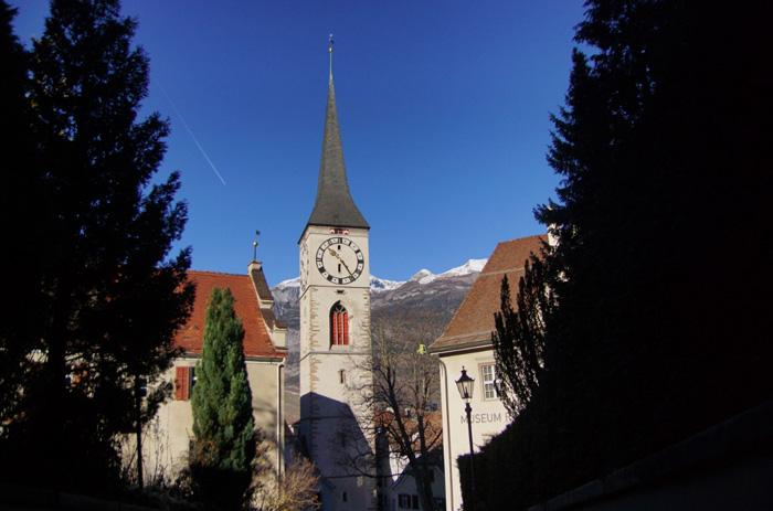 Kirchturm-Chur
