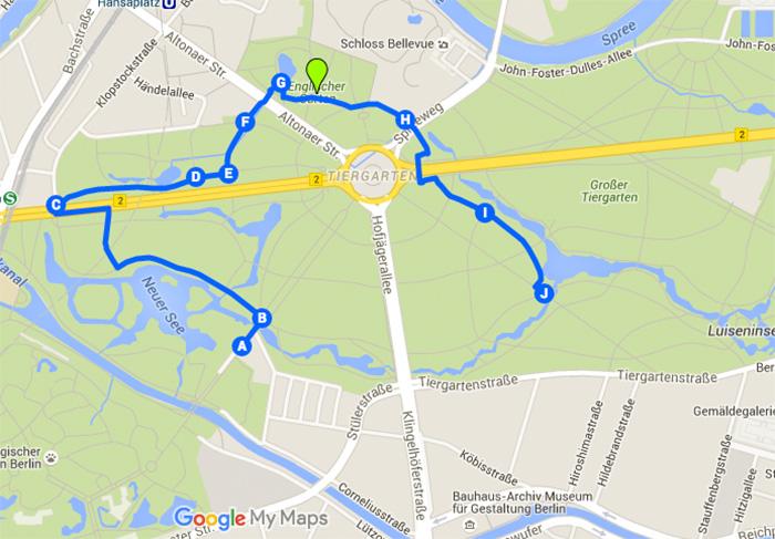 Laufstrecken-in-Berlin - Tiergarten