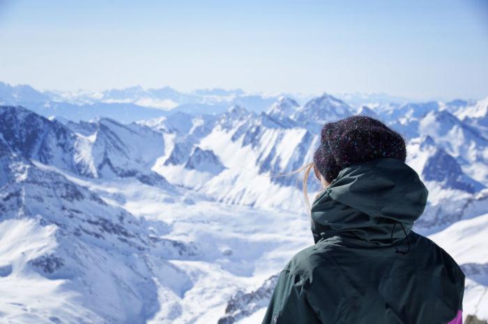 Tiroler Gletscher Hintertür