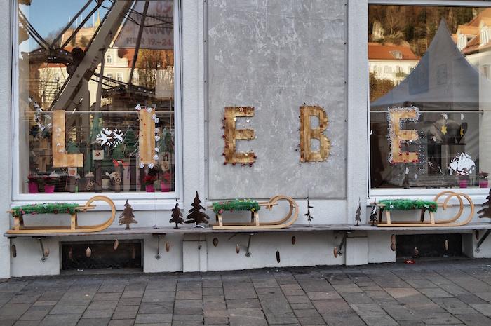 Weihnachten in Graz Liebe