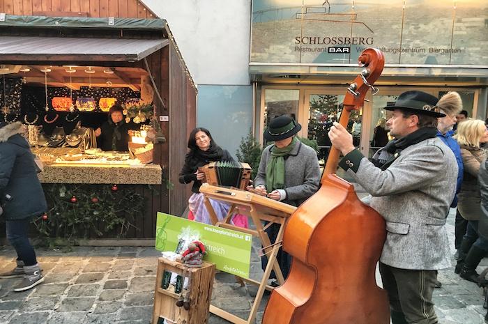 Weihnachten in Graz Livemusik Schlossberg