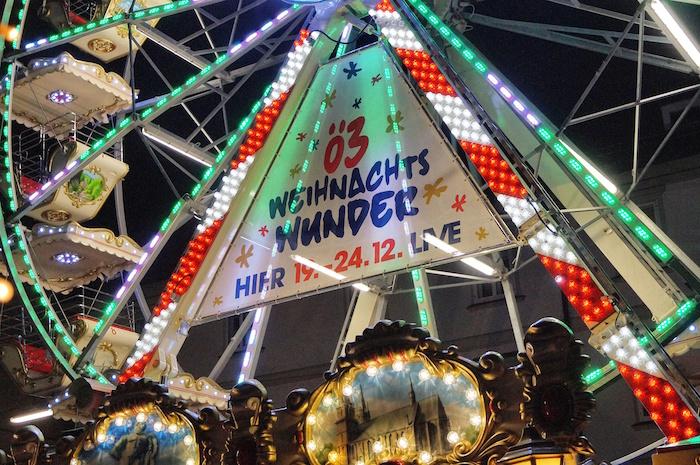 Weihnachten in Graz Wonderlend am Riesenrad