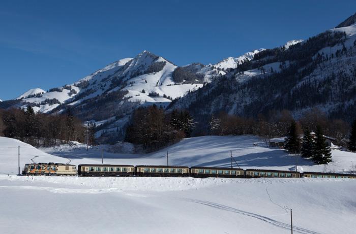 Zugfahren-Schweiz