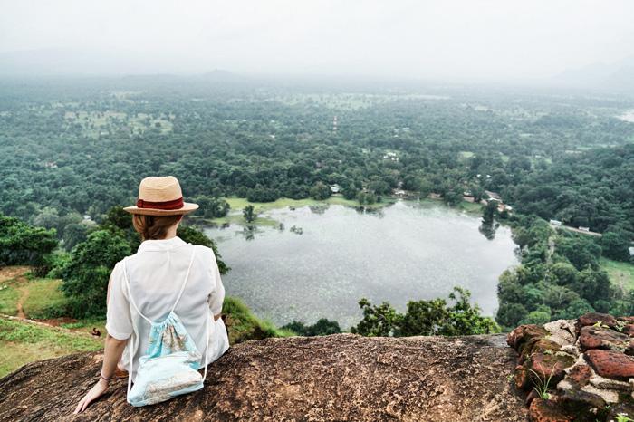 Aussicht-Sigirija