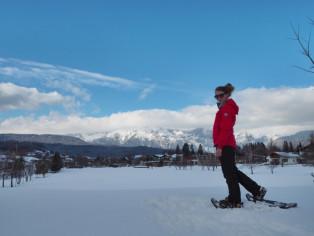 Christine-Neder-Schneeschuhlaufen