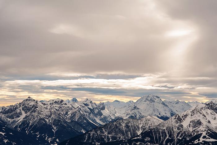Innsbruck allein