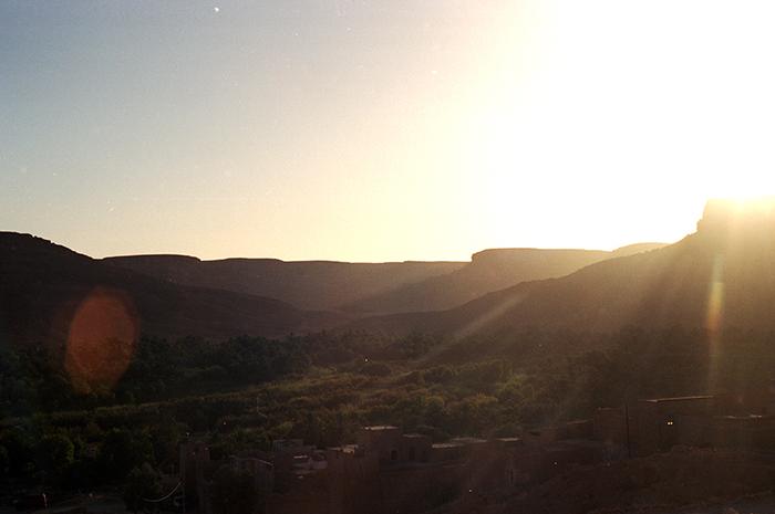 Marokko Rundreise Sonnenuntergang