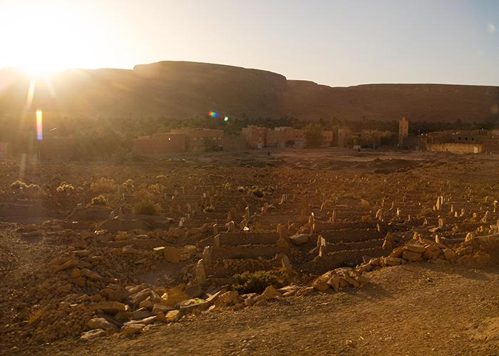 Marokko_Lehm_Dorf