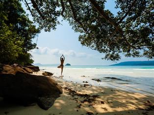 Myanmar-Hideout-Activities-Yoga-Beach