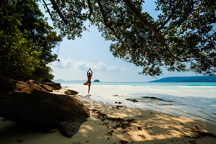 Urlaub in MyanmarActivities-Yoga-Beach