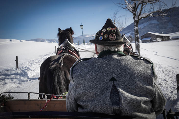 Photocredit Saalfelden:Leogang Touristik GmbH_Pferdekutsche - Horse-drawn carriage (c) Lemonmedia