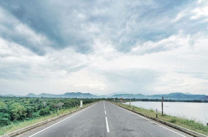 Straße-Sri-Lanka