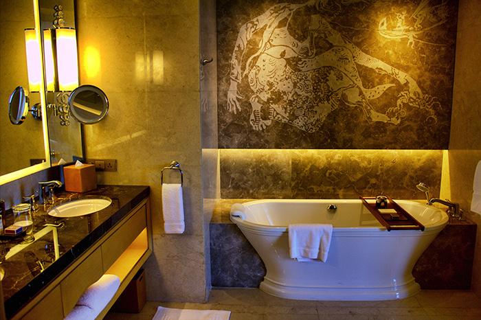 Tipps für Jakarta-Badezimmer-Raffles