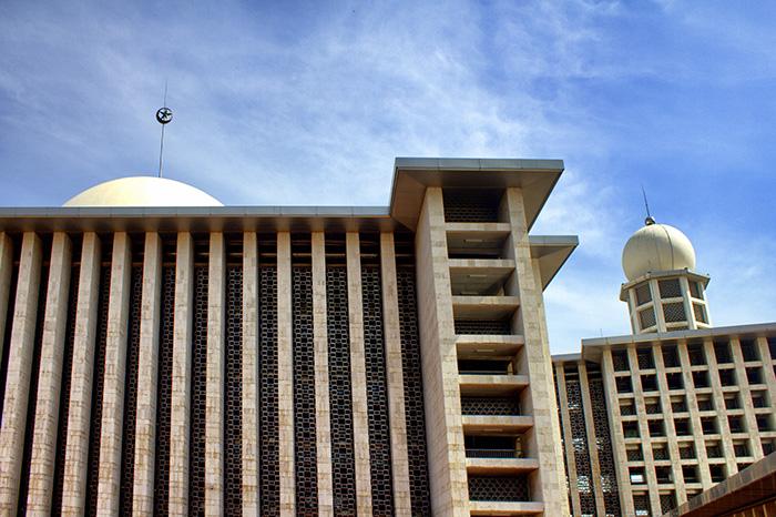 Tipps für Jakarta-Moschee-außen