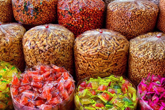 Tipps für Jakarta-Sueßigkeiten-Markt