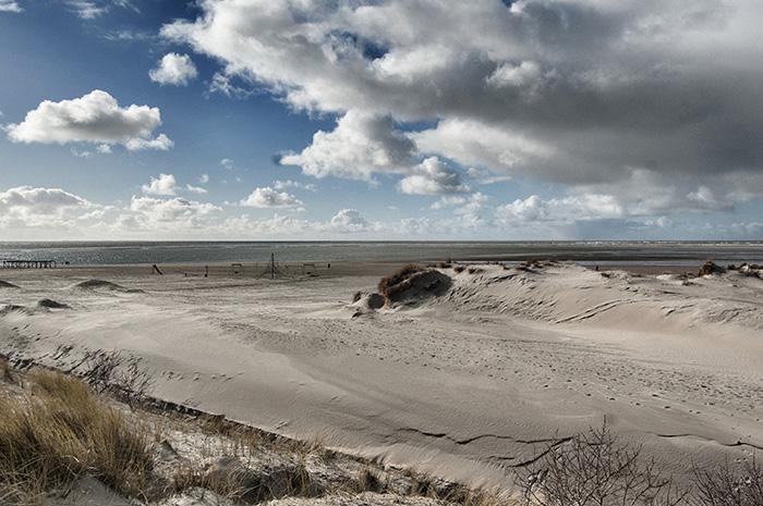 Borkum Sehenswürdigkeiten-Strand