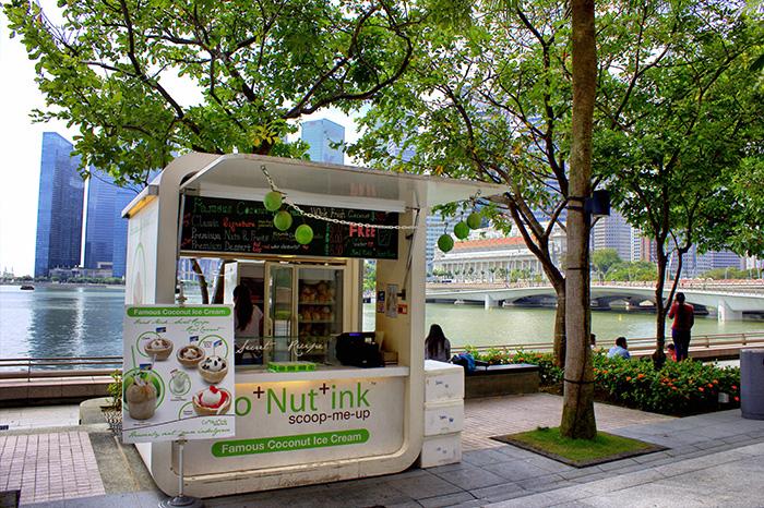 Ein-Tag-in-Singapur-Eisstand