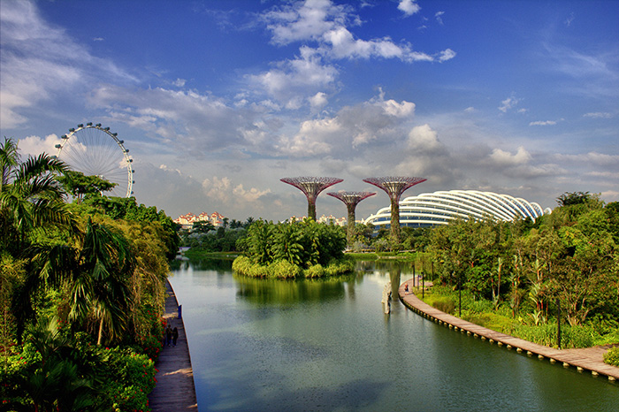 Ein-Tag-in-Singapur-Singapur-Flyer-und-Gardens-by-the-bay
