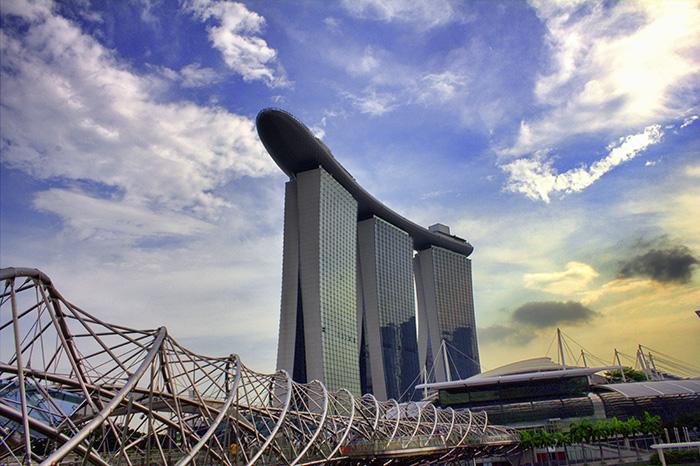 Ein-Tag-in-Singapur-Singapur-Helixbruecke