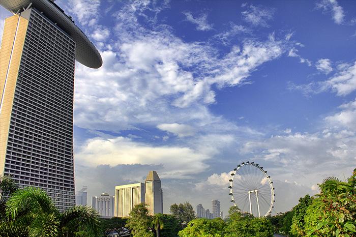 Ein Tag in Singapur