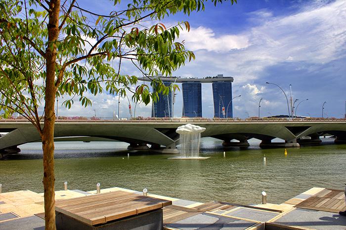 Ein-Tag-in-Singapur-Singapur-regnende-Wolke