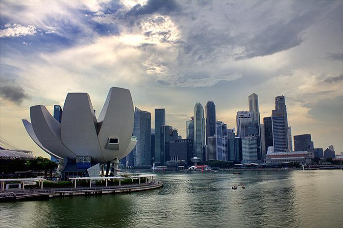 Ein-Tag-in-Singapur-Singapur-Skyline