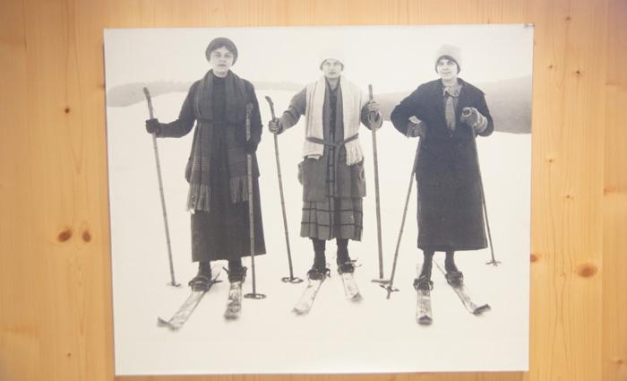 Frauen-skigahren